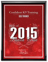 Redding Dog Trainer - Best of 2015 Award.