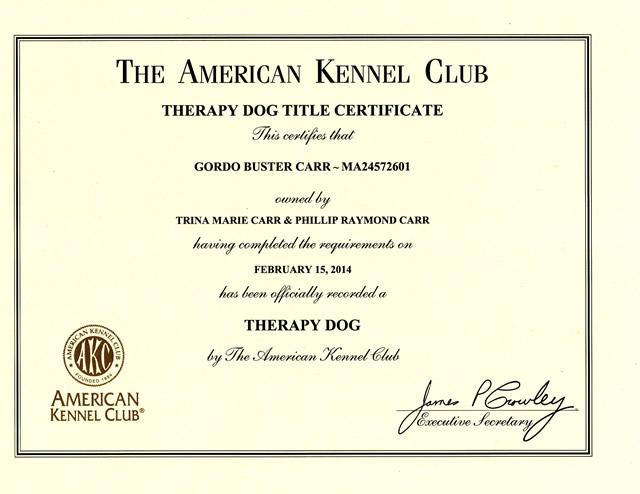 Certifications Archive - Dog Trainer, Redding, CA   Confident K9 ...